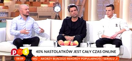 Polskie nastolatki uzależnione od Internetu