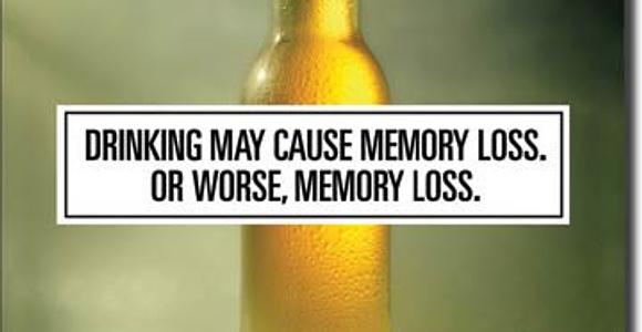 Alkohol wspomaga pamięć?